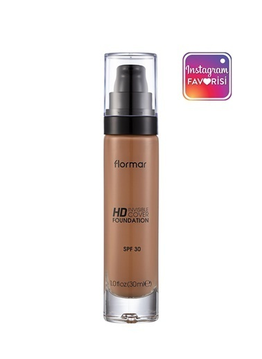 Flormar Flormar Invisible Hd Cover Foundation Caramel Fondöten  130 Ten